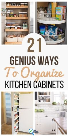 When you're baking, the last thing you want is to have to dig around for spices, vanilla, or the flour. You may even have trouble finding the mixing bowl. Organize your kitchen cabinets to create an environment that is beautiful, and to keep track! #kitchen #kitchendecor #homedecor Kitchen Cabinet Organization, Home Organization Hacks, Organizing Your Home, Closet Organization, Kitchen Cabinets, Organizing Ideas, Mason Jar Kitchen, Diy Kitchen, Kitchen Decor