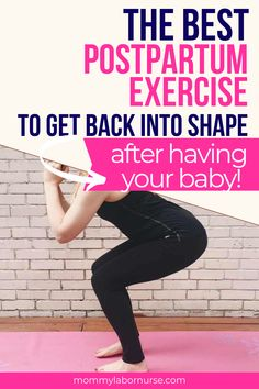 A postpartum workout that will motivate even the laziest mama (like myself)! The best postpartum exercise to reduce tummy! Pregnancy Weight Gain, Pregnancy Labor, Pregnancy Workout, Pregnancy Advice, Postpartum Anxiety, Postpartum Belly, Postpartum Recovery, Prenatal Workout, Workout Postpartum