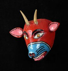 Indigo Arts Gallery | Dance Masks from Mexico