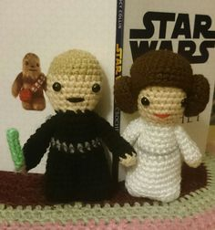 Lucy Collins Star Wars amigurami characters that were made to raise funds for the RAF Benevolent Fund Star Wars Crochet, Crochet Stars, Raise Funds, Star Wars Characters, Teddy Bear, Toys, Animals, Activity Toys, Animales