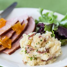 Miso mashed Potatoes.  Uses miso paste and fresh herb of choice.