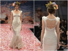 Claire Pettibone's Whimsical Wedding Dress Collection Fall 2013 -- Monica's pick for a detailed back!  See more 'roo picks on Between Designs!  http://blog.tgkdesigns.com/2013/04/10/wedding-dress-trends-gowns-with-back-details