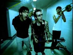 COVER SONGS!...Reel Big Fish - Take On Me... A ska version, a faster version and lets be honest a better version of the A-ha's biggest hit. Dont get me wrong, even though I've taken much shit about it, I like this song and video by A-ha. however this cover is so much fun as are Reel Big Fish. Great band to see live if you get the chance.