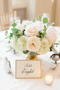 Posy - Blossom Lane Photography - The Westin Gold blush pink garden roses peony eucalyptus wedding, elegant ballroom wedding