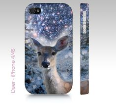 Deer - Phone Case - iPhone 4/4s, 5/5s, 6, Samsung Galaxy s3, s4, s5