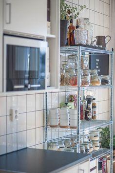 Kök med bistro känlsa
