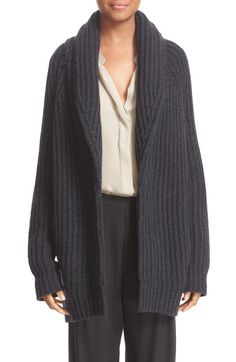 Vince Wool & Cashmere Knit Car Coat available at #Nordstrom