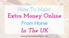 I want to share with you some of the ways you can make money online in the UK, working from home. I live in the UK and the methods I share will be ones that I've personally used myself to make money online, as well as sites that are popular, which others have used to make money online. Some of the methods I mention pay in $ dollars,therefore they can also be used by non-UK citizens.(Note: You can still cash out from sites that pay in dollars if you live in the UK).So, whether you're…