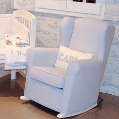 1000 images about spanische babyaccessoires on pinterest for Babyzimmer schaukelstuhl