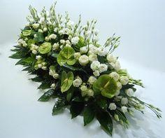 Easter Flower Arrangements, Funeral Flower Arrangements, Funeral Flowers, Floral Arrangements, Casket Sprays, Altar Flowers, Deco Floral, Flower Designs, Origami