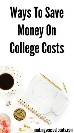 """College costs are one of the largest """"purchases"""" a person will ever make. The other big purchase would most likely be a house that a person buys. However, sometimes a house may cost LESS than a college degree! College Costs, College Hacks, College Savings, Ways To Save Money, Money Saving Tips, Saving Ideas, Managing Money, Money Tips, Types Of Education"""