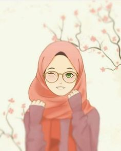hijab drawing Hijab and glasses girl Cartoon Kunst, Cartoon Art, Tmblr Girl, Hijab Drawing, Wallpaper Hp, Islamic Cartoon, Hijab Cartoon, Islamic Girl, Anime Art Girl
