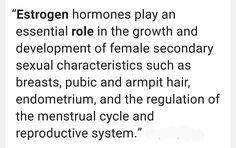 Main role of estrogen