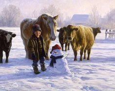 *Snowman...Robert Duncan