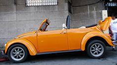 Orange VW Bug