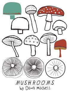 mushrooms+dawnmachell.jpg (597×777)