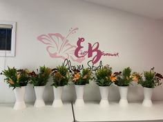 Unique Floral Arrangement Classes offered at EB Flower Studio in East Brunswick NJ! Floral Arrangement Classes, Floral Arrangements, Floral Design Classes, East Brunswick, Flower Studio, Girls Night Out, Place Card Holders, Flowers, Girls Night In
