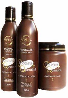 produtos e marcas para escova progressiva de chocolate