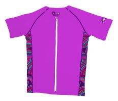 Awesomely stylish magenta Girls' skinz with #UPF 50+ for girls that love the outdoors and the ocean! #beach #kids #Newtz
