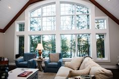 For over 40 years Cedarland Homes has been the builder of beautiful homes and cottages in the Parry Sound, Muskoka and Georgian Bay regions. Cottage Windows, Window Wall, Open Concept, Great Rooms, Custom Homes, Beautiful Homes, Building A House, Fox, House Of Beauty
