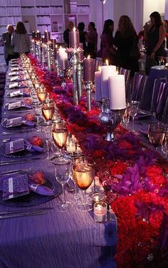 To the Bride and Groom: Eggplant, Purple & Ruby Red Wedding Inspirations