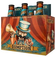 Gumption six pack