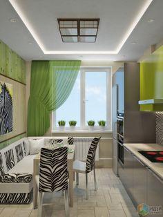 Квартира с африканскими мотивами