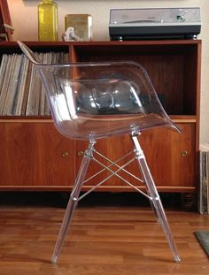 Rare Lucite Herman Miller Style Arm Shell by AntiqueApartment