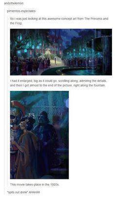 Well, since Disney now owns Star Wars, This. Well, since Disney now owns Star Wars, Th Disney Pixar, Disney Now, Arte Disney, Disney And Dreamworks, Disney Animation, Disney Magic, Disney Stuff, Funny Disney Memes, Disney Jokes