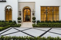 Home designs Home ideas Home ideas interiors Home must haves Home office Home plans builders Homes exterior Homes plans 4328 Fairfax Ave, Dallas, TX 75205 Fairfax Ave, Mediterranean Decor, Mediterranean Architecture, Mediterranean House Exterior, Classical Architecture, Modern Farmhouse Exterior, Dream House Exterior, Entrance Doors, House Entrance