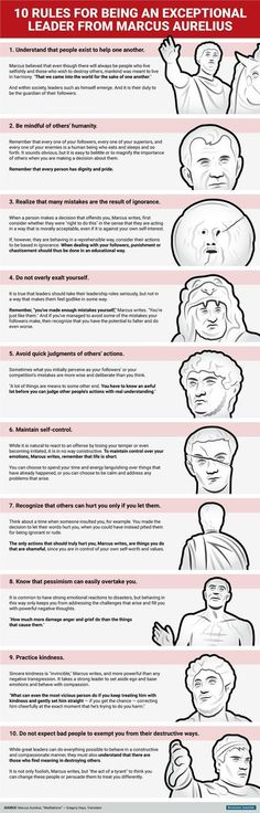 Philosophy Matters @PhilosophyMttrs 46m46 minutes ago More The Marcus Aurelius Guide to Good Leadership