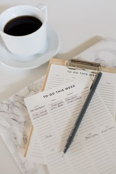 Free printable to-do list to help increase your productivity. Organized by week.