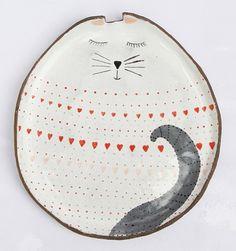 Cat plate..