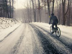 Caught in the snow, again. #cyclocross #winter #nooffseason