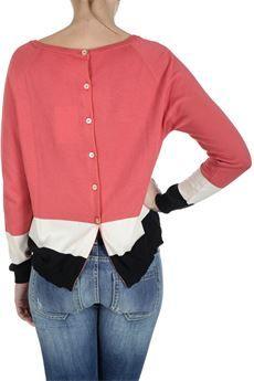 #Jucca #maglia in 100% cotone #bforeshop #moda #donna #woman #fashion #SS2015 #shirt