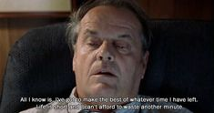 Continuing on with the Jack Nicholson themed posts over the weekend I thought I would finish with just one more! Looking at some of my favourite of his lines from different films!