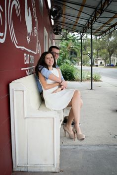 High School Sweethearts Engagement by Corner House Photography---Melissa Hearts Weddings