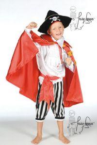 Fairy Kisses - Hook Pirate Costume: Sizes: M (6-7), L (8-9). $71.99