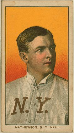 New York City, NY, New York Giants, Christy Mathewson, Baseball Card Art Print by Lantern Press. Find art you love and shop high-quality art prints, ...