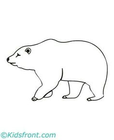 Bear Template For Soap Carving