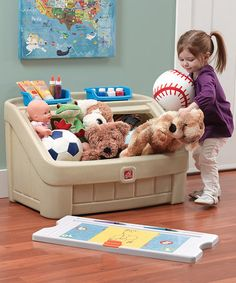 Another great find on #zulily! Art Lid Toy Box by Step2 #zulilyfinds