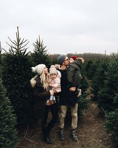 Christmas tree lot Family at christmas.ριитєяєѕт @FaithBird ❥❥❥