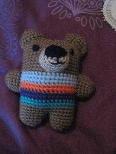Ravelry: Crochet Teddy Rattle pattern by Eddy Gee