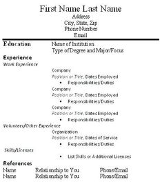 Apple Resume Template Apple Pages  Resume Templates  Pinterest  Template And Resume .