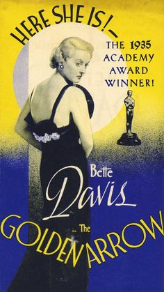 Bette #Davis the golden arrow