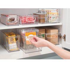 InterDesign Küchen-Box 25,5 x 15,5 x 13 cm, transparent: Amazon.de: Küche & Haushalt