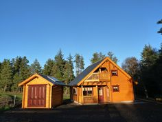 Roe Deer Log Cabin, Mulben, Keith, Banffshire, Scotland. (Sleeps 1 - 6). Holiday. Travel. Log Cabin. Self Catering. Accommodation. Dog Friendly. Family. Staycation. Disabled Access. Disabled Facilities.