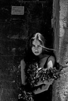 Ferdinando Scianna ITALY Sicily Palermo 1991 Carmen SAMMARTIN