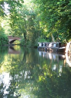 Evening shot Basingstoke Canal near Frimley Green Surrey A picture of: Frimley Green, Surrey