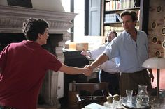 Central to Luca Guadagnino's Oscar frontrunner Call Me By Your Name is the relationship between characters played by Timothee Chalamet And Armie Hammer. We sat down with the actors to discuss their experience on the film. Jackie Kennedy, Natalie Portman, Movies Showing, Movies And Tv Shows, Live Action, Hollywood, Oscar Nominated Movies, Call Me By, Still Life Film